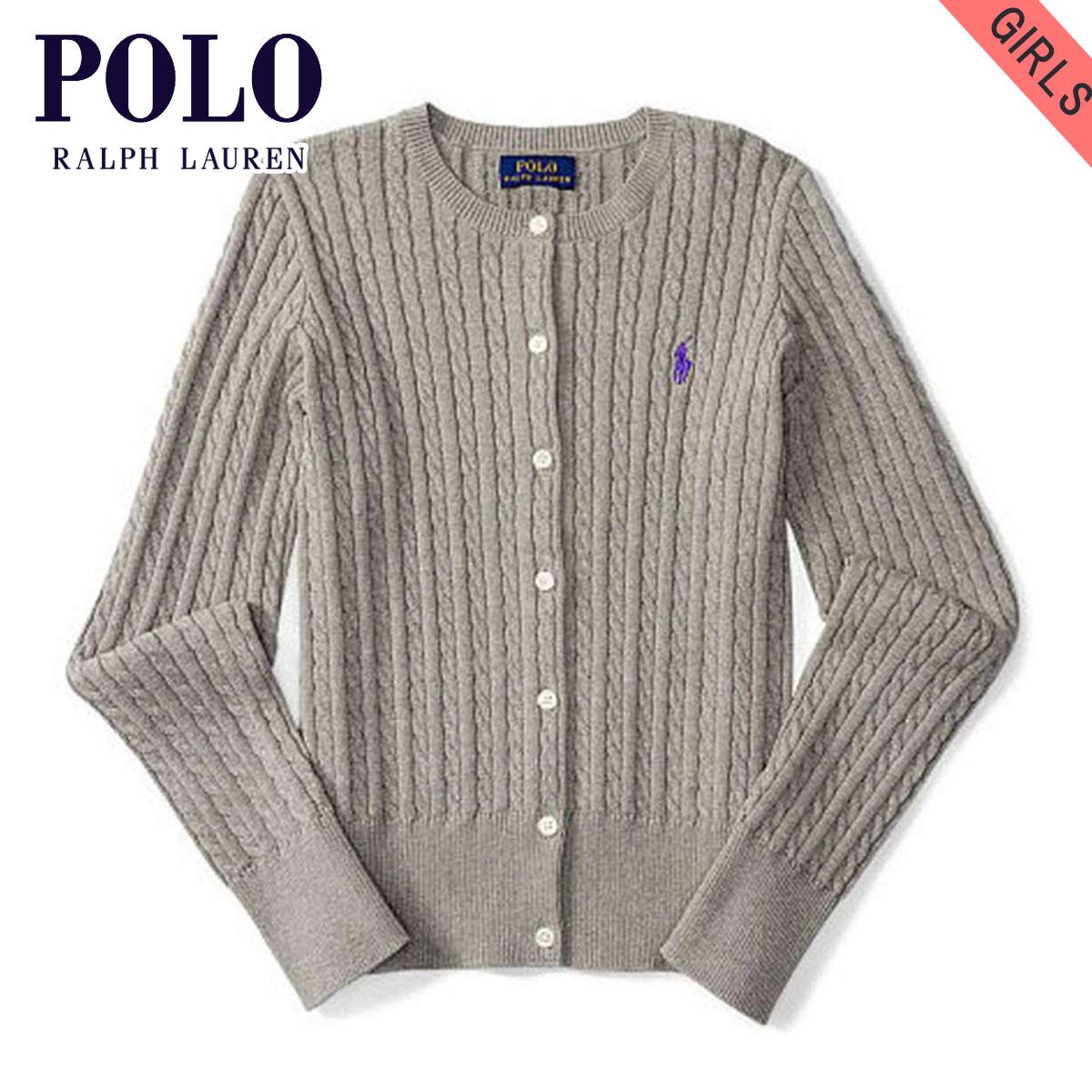 674c018d0507c Polo Ralph Lauren kids sweater girls children's clothes regular article  POLO RALPH LAUREN CHILDREN cardigan MINI-CABLE COTTON CARDIGAN 99493526  D00S20