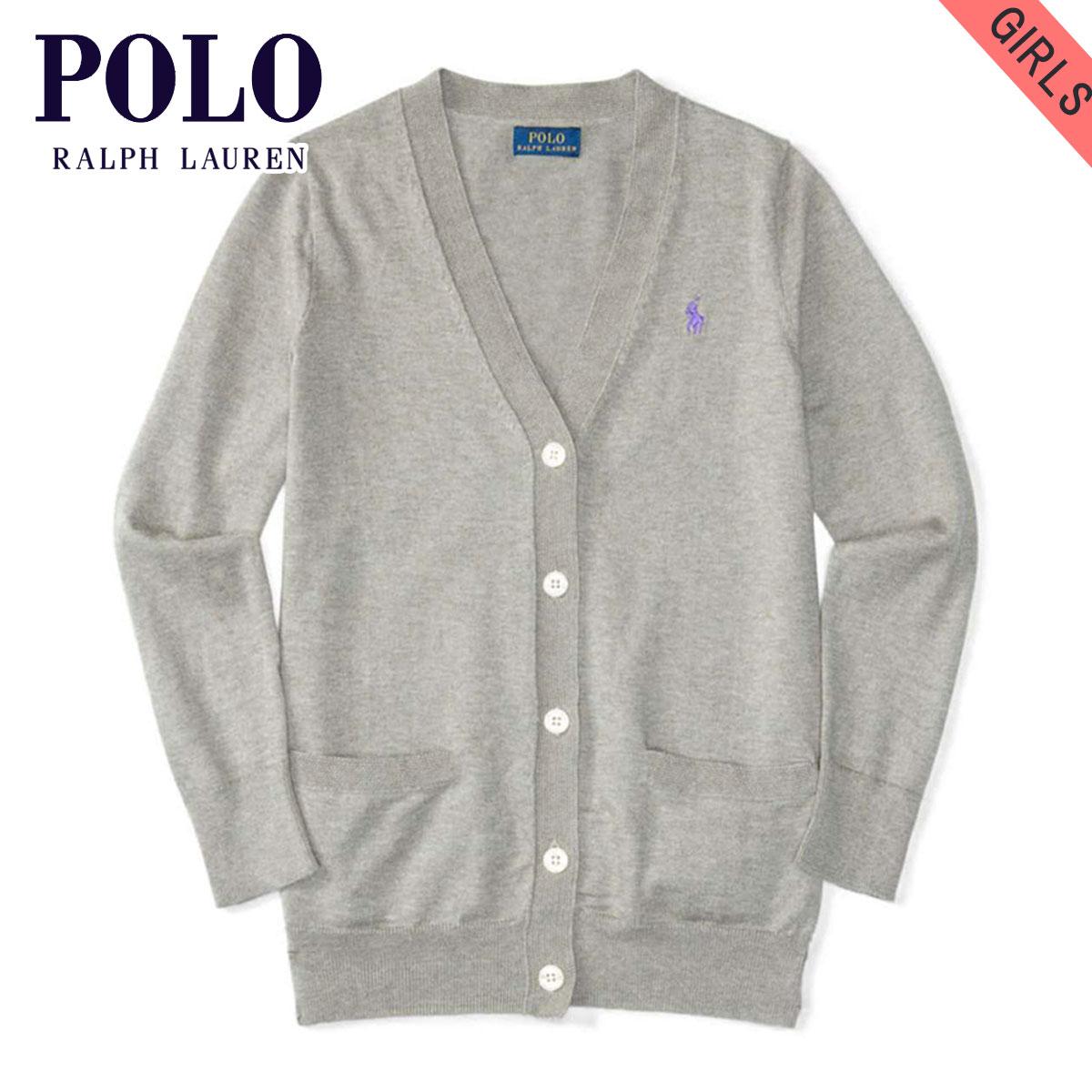 6a240e08b762f 20%OFF sale polo Ralph Lauren kids sweater girls children's clothes regular  article POLO RALPH LAUREN CHILDREN cardigan PIMA COTTON CARDIGAN 99493806  ...