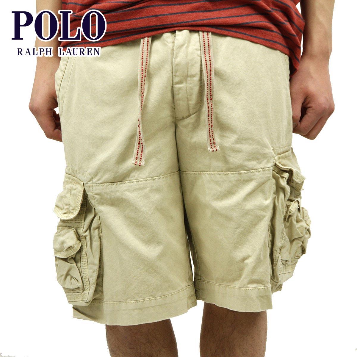 ポロ ラルフローレン POLO RALPH LAUREN 正規品 メンズ ショートパンツ SHORT PANTS ベージュ D00S20