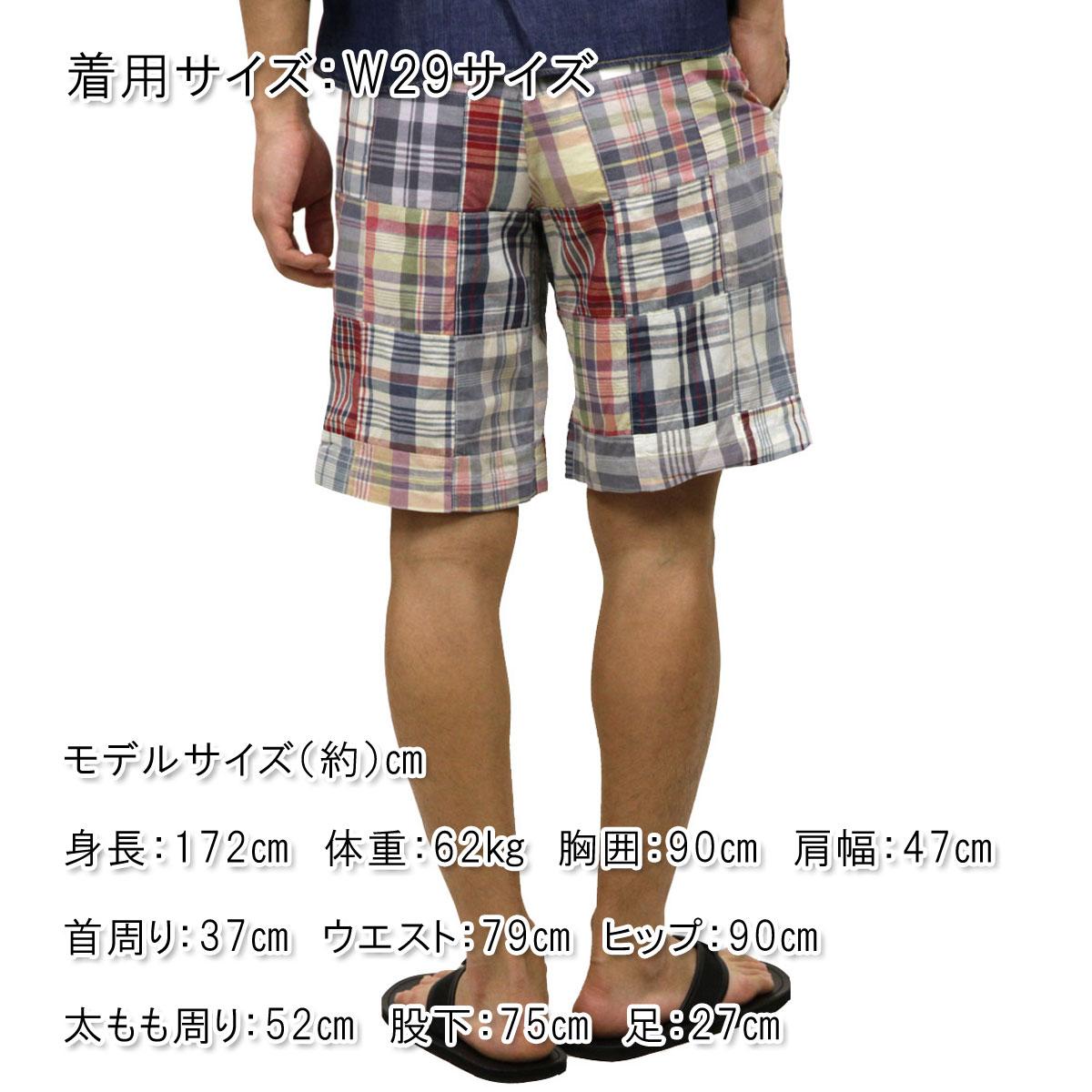 【ポイント10倍 6/21 20:00~6/26 01:59まで】 ポロ ラルフローレン POLO RALPH LAUREN 正規品 メンズ ショートパンツ MADRAS PATCHWORK SHORTS D20S30