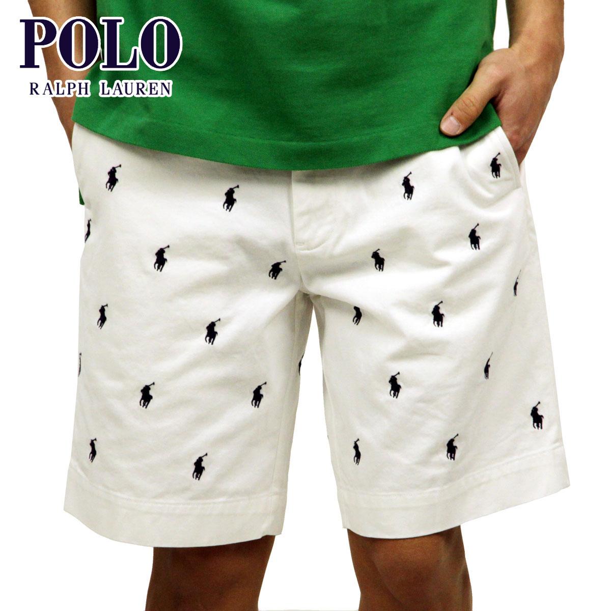 White Bottoms Polo Regular Ralph Lauren Pants Article Shorts Short Pony Men's oWeEQBrCdx