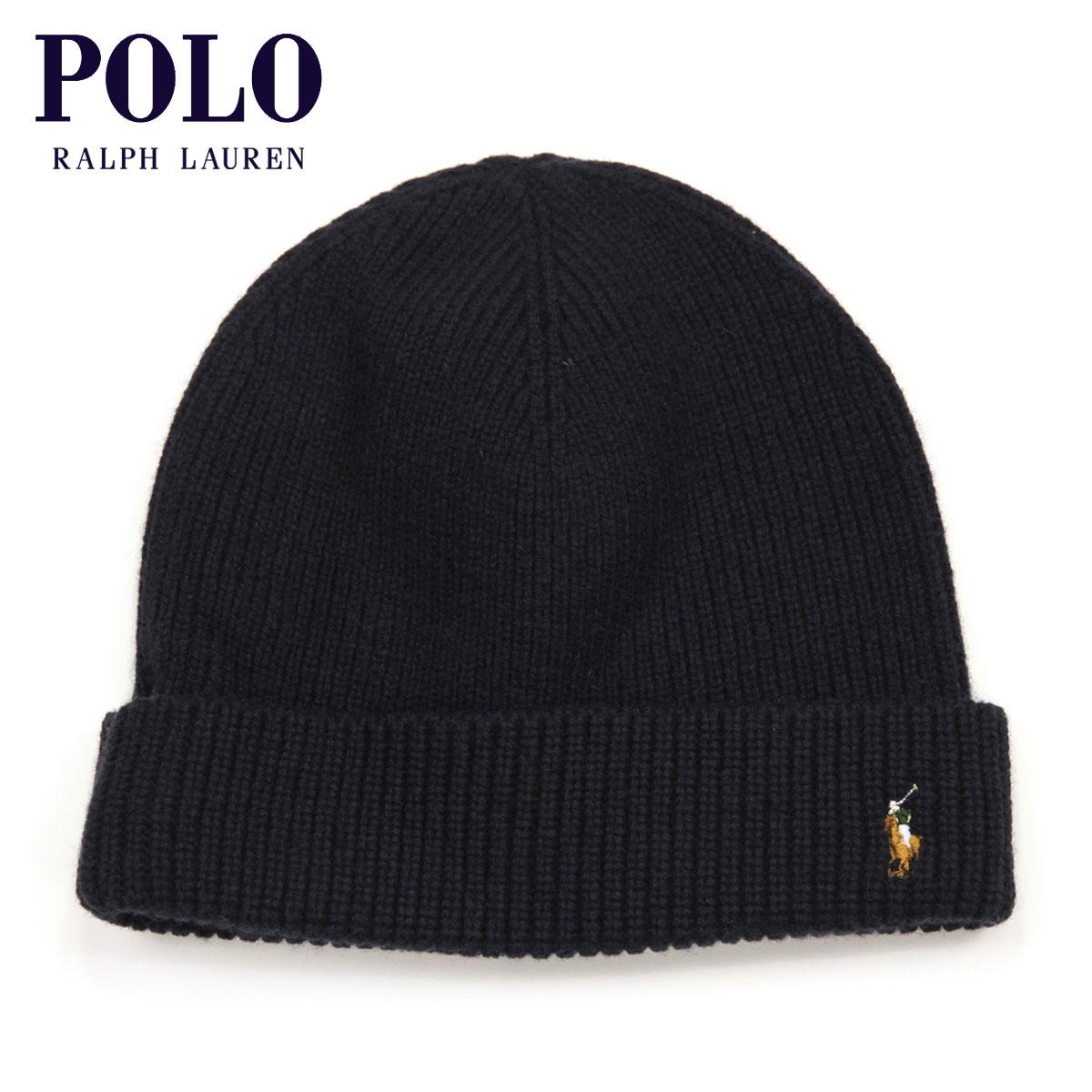 c117feddec6 Polo Ralph Lauren POLO RALPH LAUREN regular article knit cap MERINO WOOL  WATCH CAP NIGHT D30S40