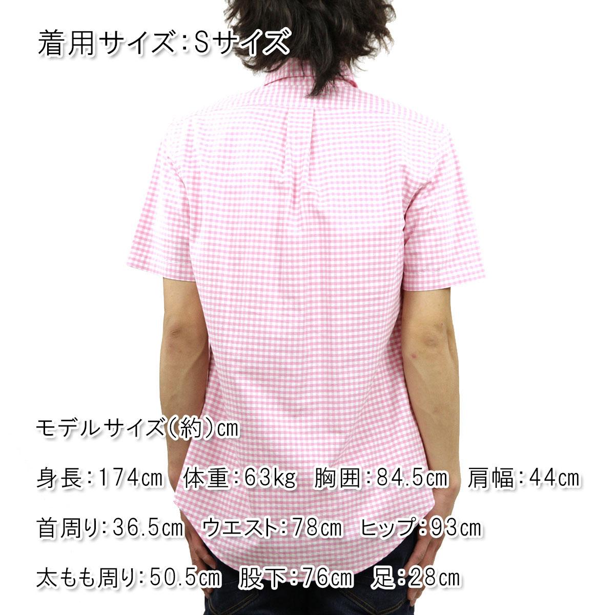 d887a913 Polo Ralph Lauren shirt men's regular article POLO RALPH LAUREN short  sleeves shirt button-down shirt Custom-Fit Short-Sleev