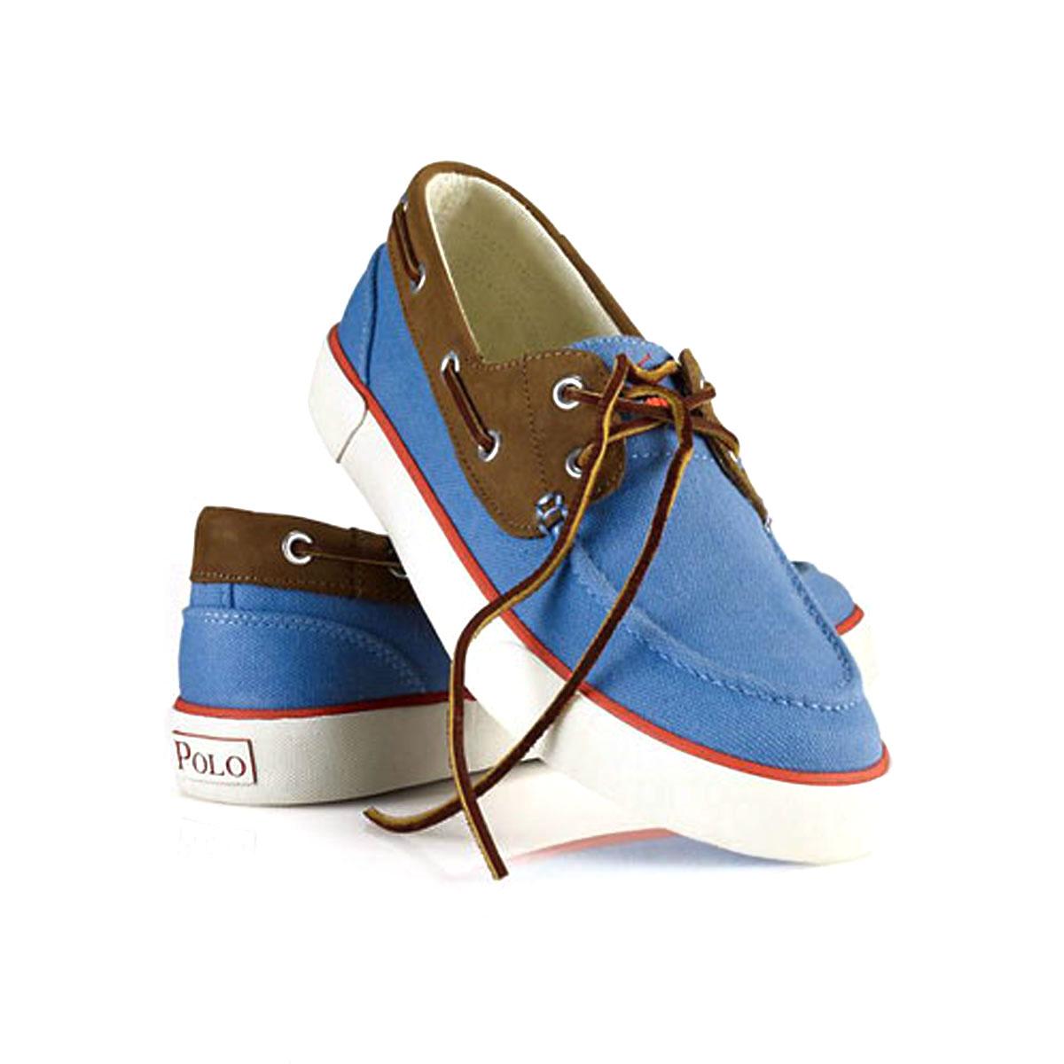 Polo Ralph Lauren POLO RALPH LAUREN genuine men s deck shoes campus  Rylander Canvas Boat Shoe BLUE 10P22Jul14 bad46bece