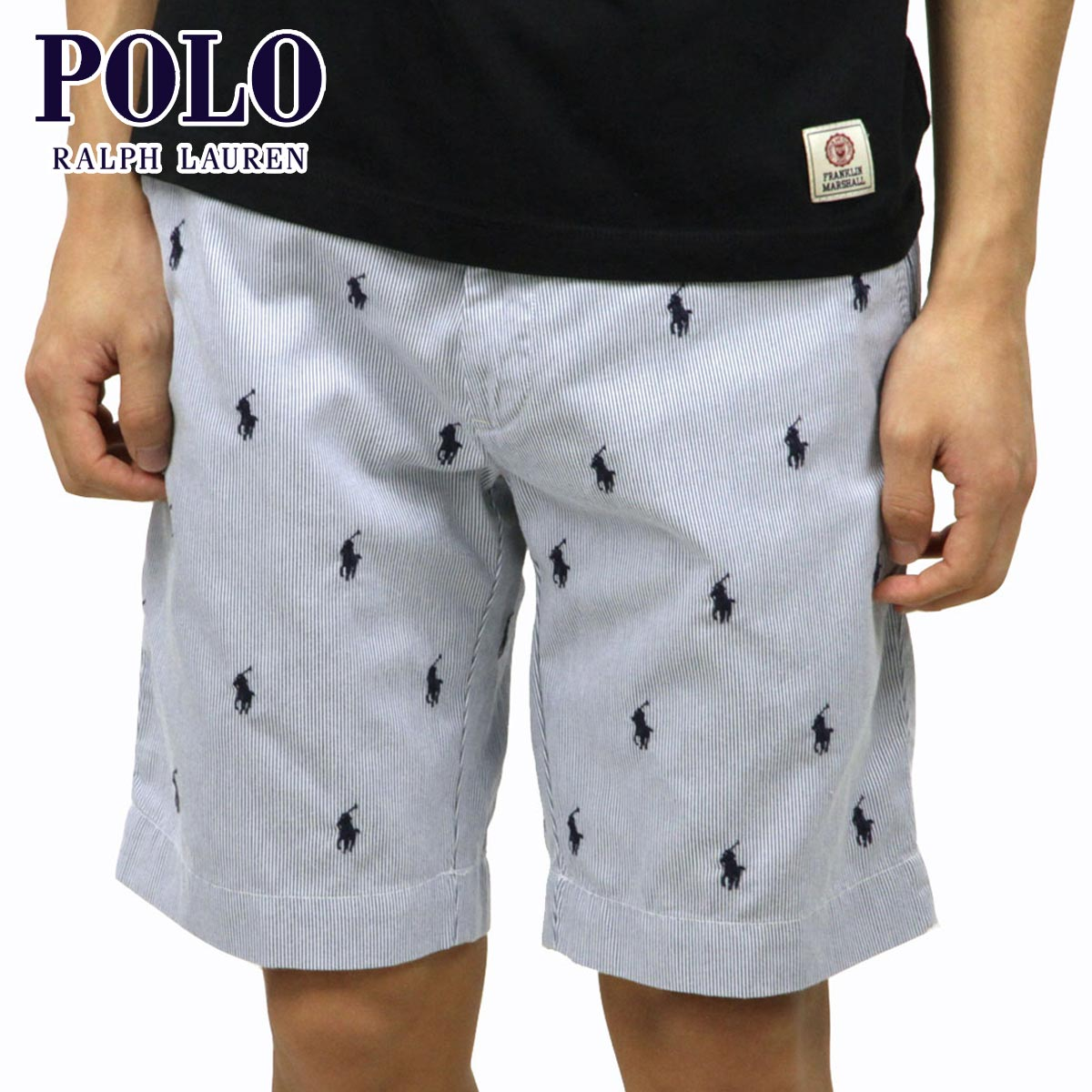 8a3d17e21 Polo Ralph Lauren POLO RALPH LAUREN genuine mens shorts PONY SHORTS BLUE  10P22Jul14