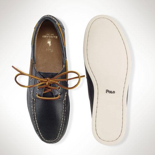POLO RALPH LAUREN polo Ralph Lauren regular article men shoes shoes Bienne Boat Shoe
