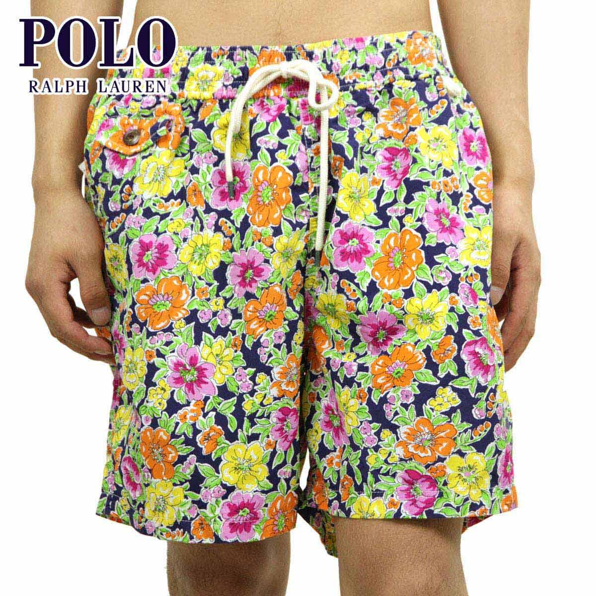 ポロ ラルフローレン POLO RALPH LAUREN 正規品 メンズ スイムパンツ Traveler Floral Swim Shorts D20S30