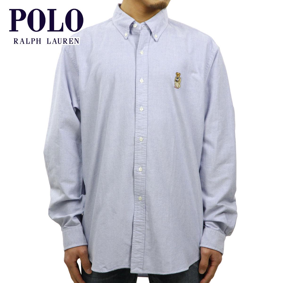6c84c5ce Polo Ralph Lauren shirt men's regular article POLO RALPH LAUREN long  sleeves shirt Long-Sleeve Oxford Polo Bear Shirt D20S30