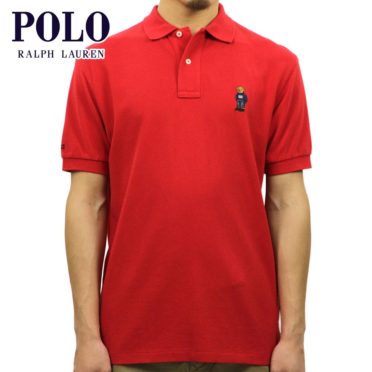 ポロ ラルフローレン POLO RALPH LAUREN 正規品 メンズ ポロシャツ Classic-Fit Short-Sleeve Bear Polos D20S30