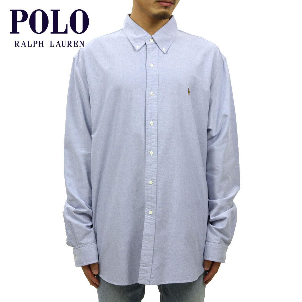 ポロ ラルフローレン POLO RALPH LAUREN 正規品 メンズ 長袖シャツ Custom-Fit Solid Oxford Shirt D00S20