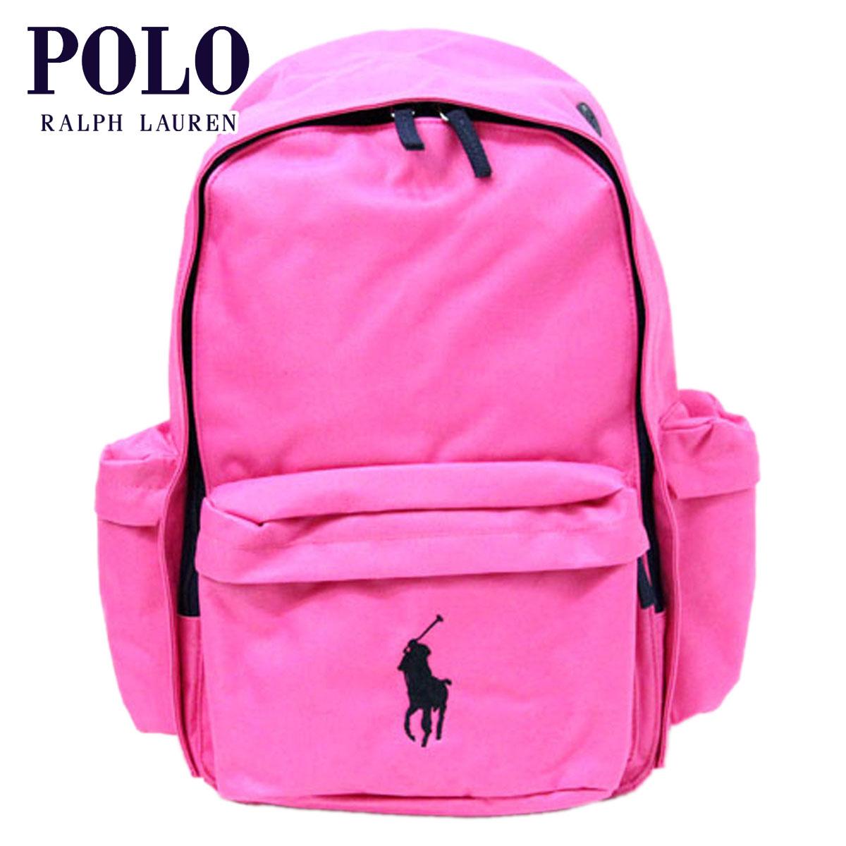 【販売期間 8/10 13:00~8/16 9:59】 ポロ ラルフローレン POLO RALPH LAUREN 正規品 バッグ BIG PONY School Backpack (H42.5*W28*D15.5cm)