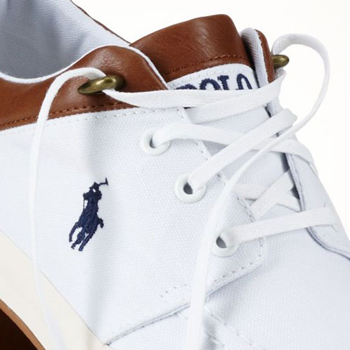 马球拉尔夫劳伦马球拉尔夫劳伦真诚的男士鞋鞋 TWO-TONED JERRED 运动鞋