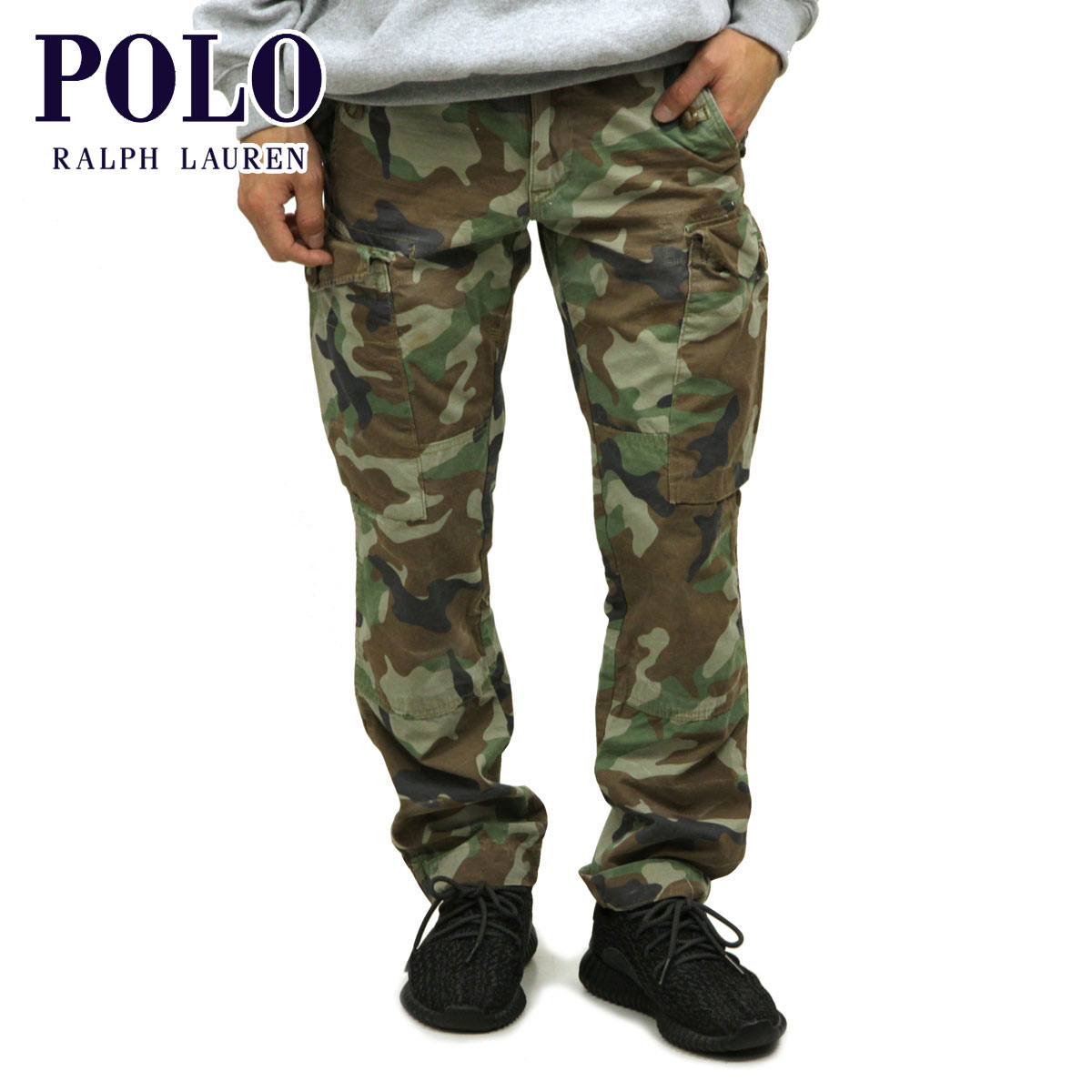 3f7cf62bdc Polo Ralph Lauren short pants men's regular article POLO RALPH LAUREN cargo  pant bottoms CAMOUFLAGE CARGO PANTS D20S30