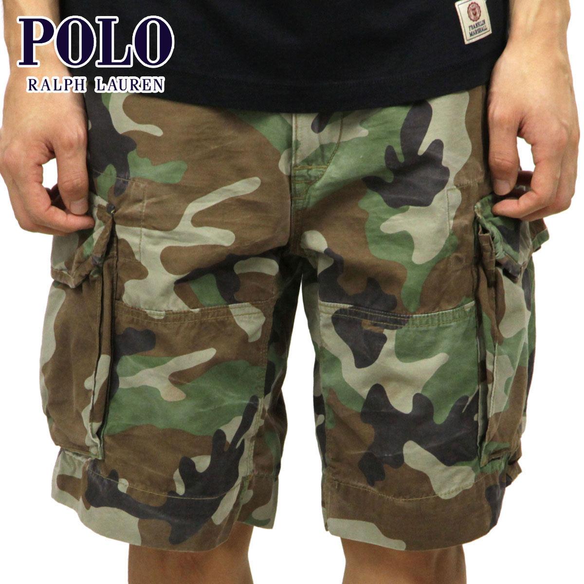 ポロ ラルフローレン POLO RALPH LAUREN 正規品 メンズ ショートパンツ CAMOUFLAGE WORK SHORT PANTS D20S30