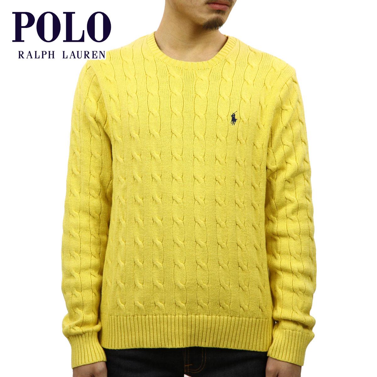 ポロ ラルフローレン POLO RALPH LAUREN 正規品 メンズ セーター CABLE-KNIT COTTON SWEATER D00S20
