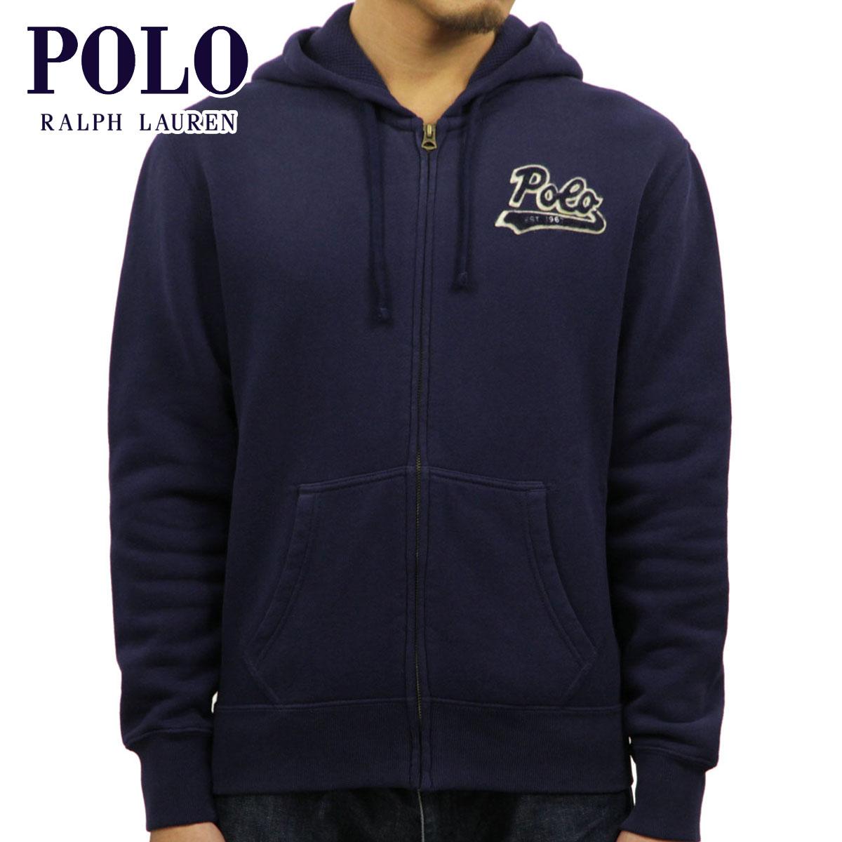 wie man serch Top Design hoch gelobt Polo Ralph Lauren POLO RALPH LAUREN regular article men zip up parka  COTTON-BLEND-FLEECE SWEATSHIRT D00S20