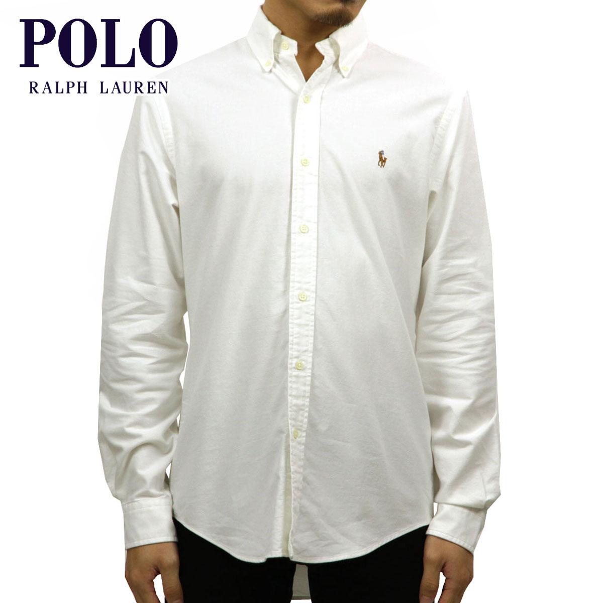 ポロ ラルフローレン POLO RALPH LAUREN 正規品 メンズ 長袖シャツ Classic-Fit Oxford Shirt D00S20