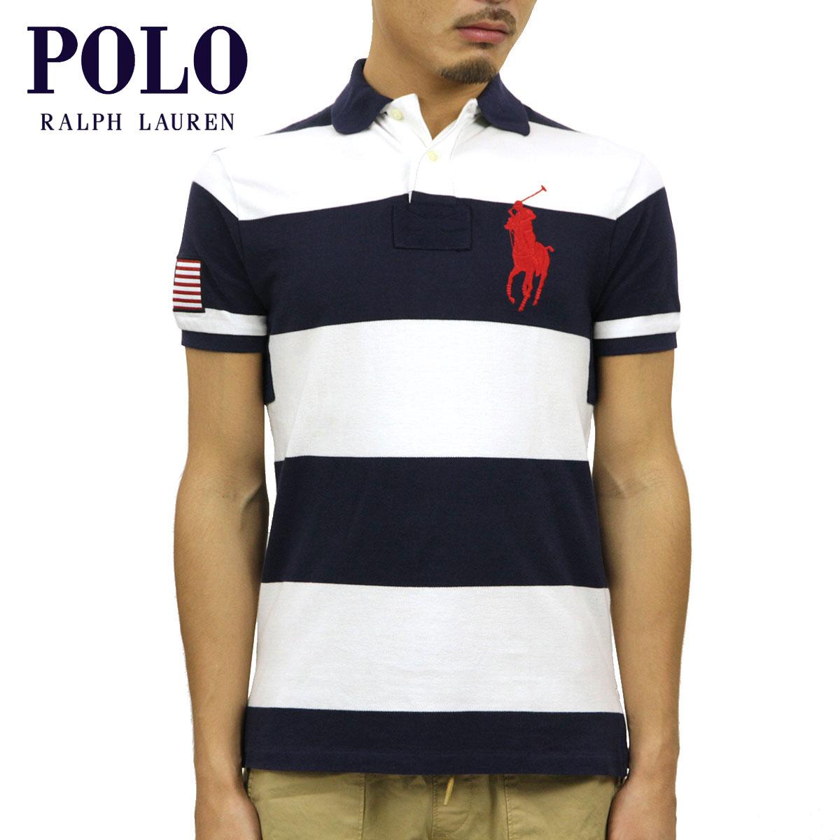 ポロ ラルフローレン POLO RALPH LAUREN 正規品 メンズ ポロシャツ BIG PONY STRIPE POLO D00S20