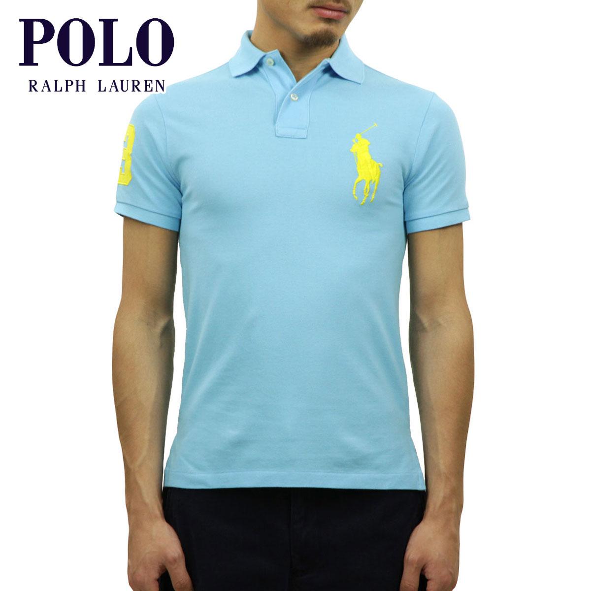 ポロ ラルフローレン POLO RALPH LAUREN 正規品 メンズ ポロシャツ CUSTOM-FIT BIG PONY POLO D00S20