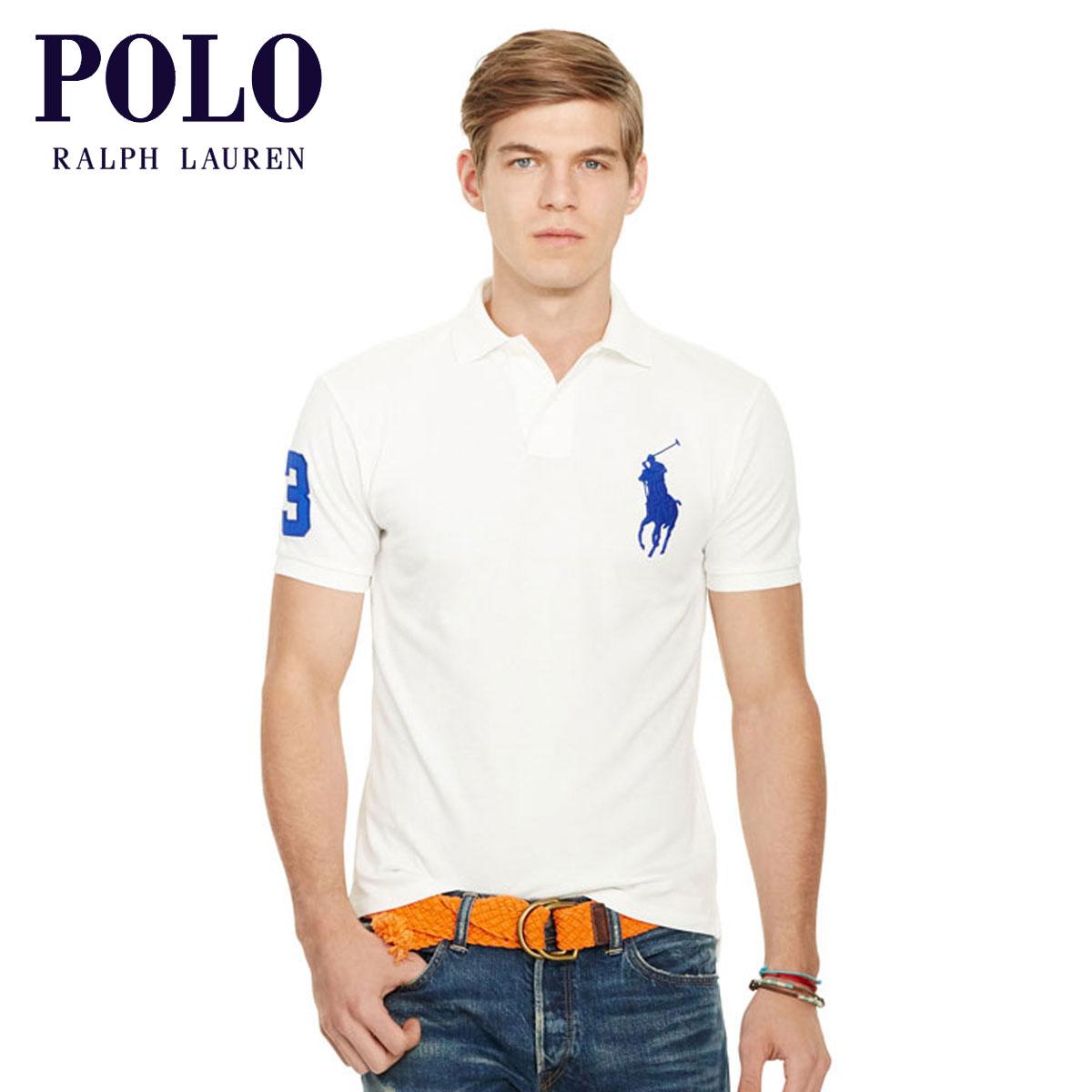 ポロ ラルフローレン POLO RALPH LAUREN 正規品 メンズ ポロシャツ SLIM-FIT BIG PONY POLO SHIRT D00S20