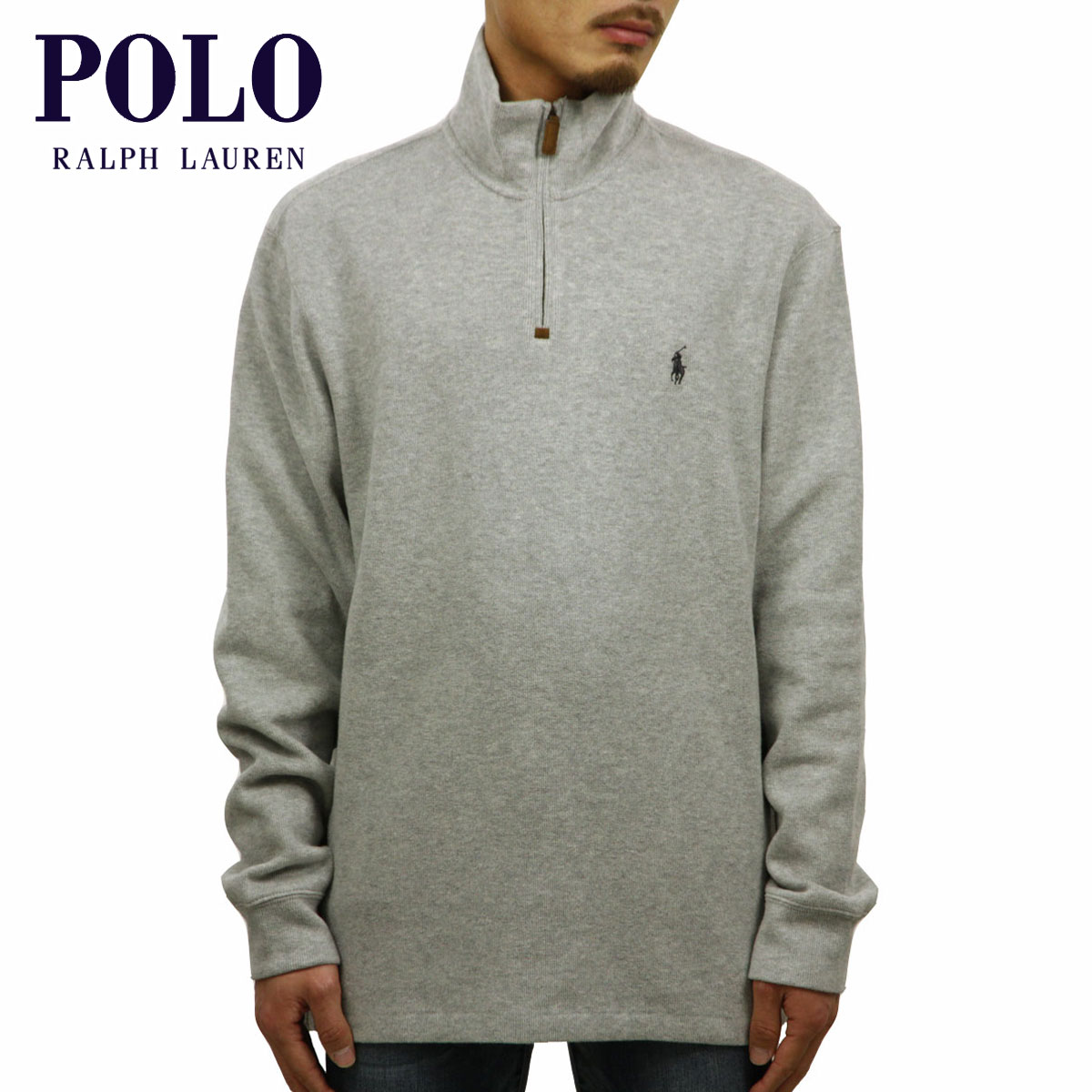 ポロ ラルフローレン POLO RALPH LAUREN 正規品 メンズ セーター Half-Zip Cotton Sweater D00S20