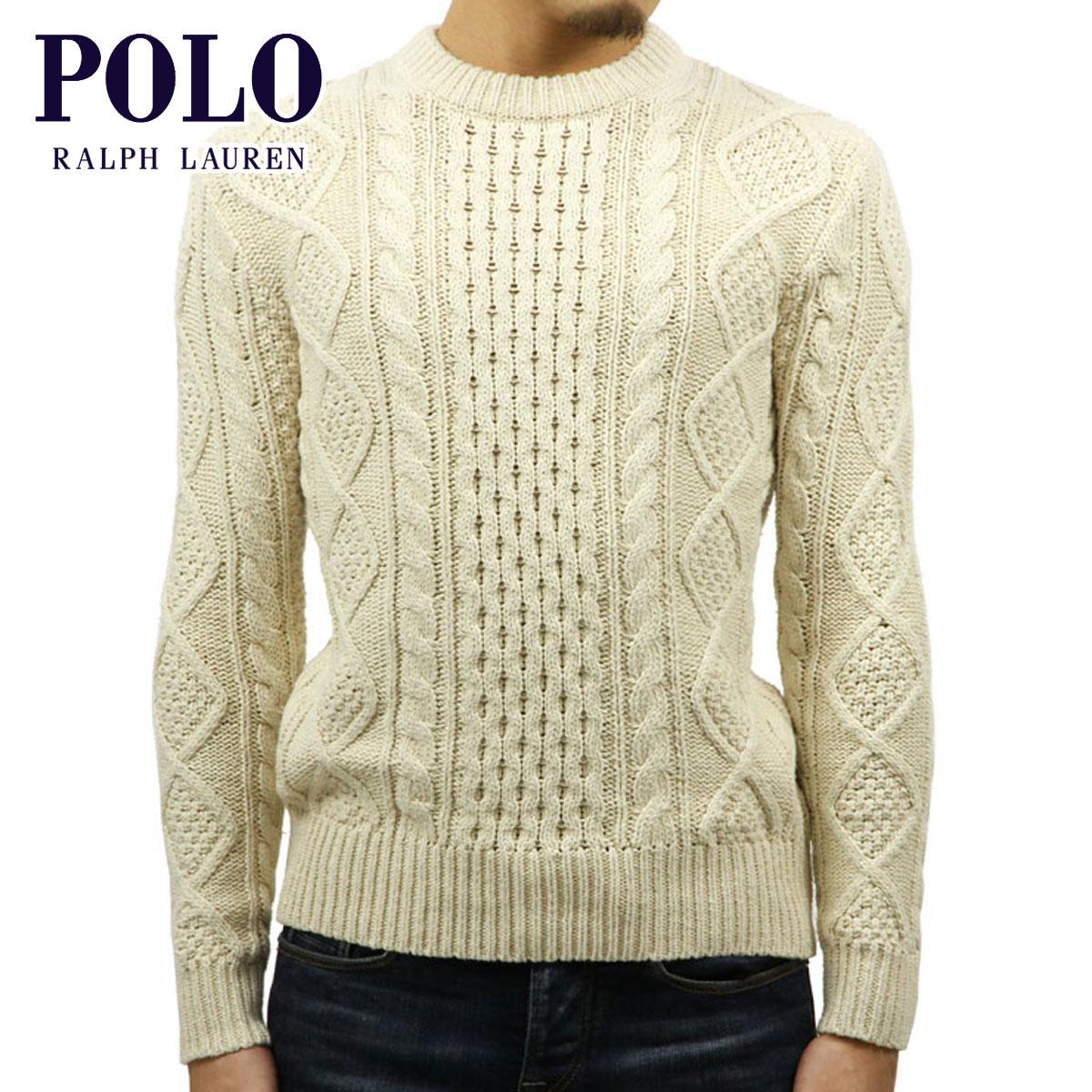 ポロ ラルフローレン POLO RALPH LAUREN 正規品 メンズ セーター CABLE KNIT SWEATER