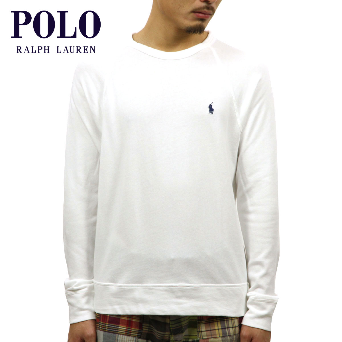 9008c46a6 Rakuten Ichiba shop MIXON  Polo Ralph Lauren POLO RALPH LAUREN regular  article men sweat shirt COTTON SPA TERRY SWEATSHIRT