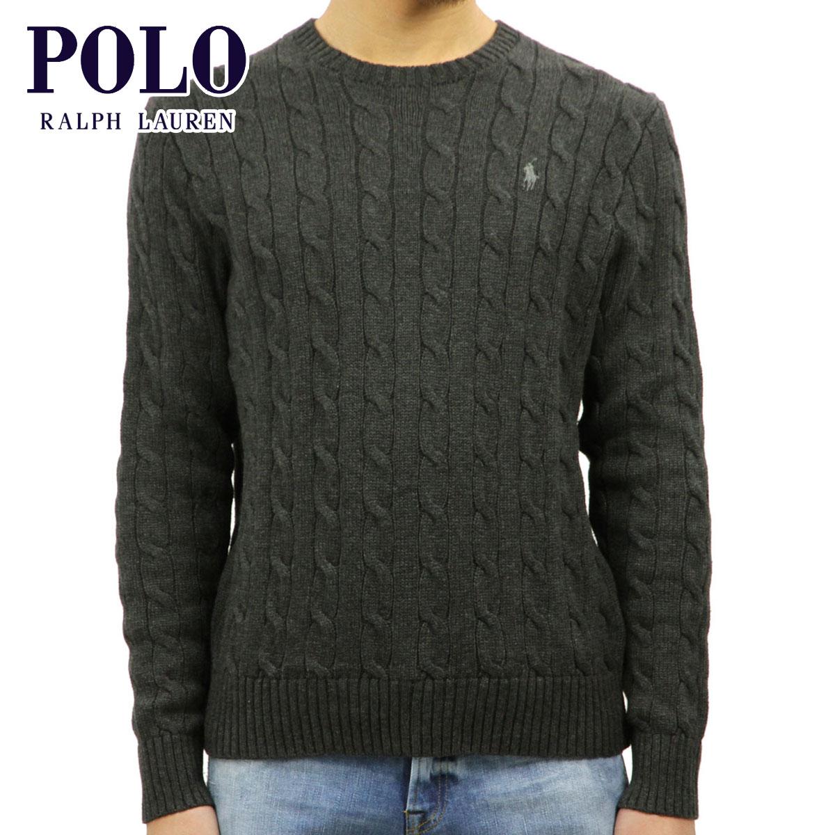 ポロ ラルフローレン POLO RALPH LAUREN 正規品 メンズ セーター CABLE-KNIT COTTON SWEATER