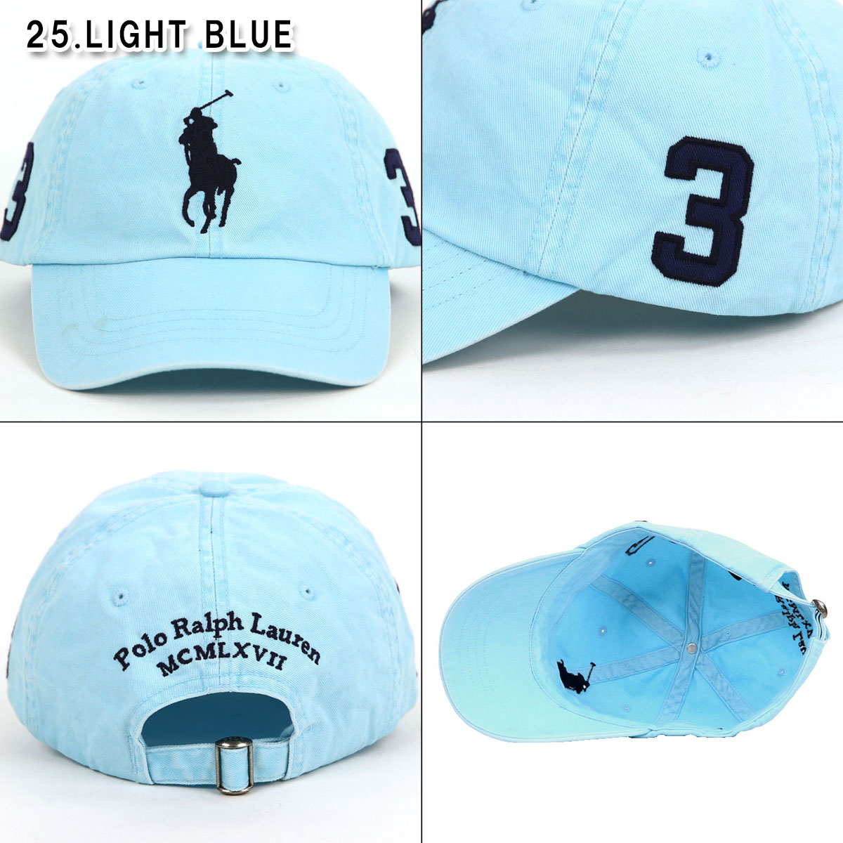 Polo Ralph Lauren POLO RALPH LAUREN regular article hat big pony numbering baseball  cap Big Pony Hat 228d9ca98661