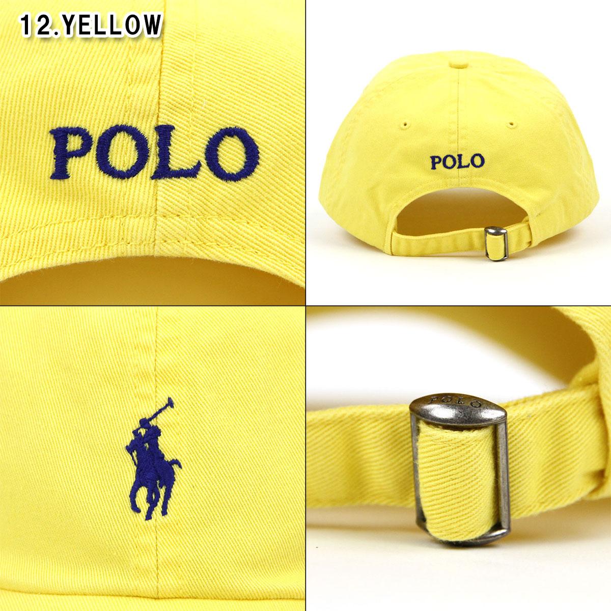 Entering polo Ralph Lauren POLO RALPH LAUREN regular article men hat cap  one point embroidery COTTON BASEBALL CAP 7110cc11d710
