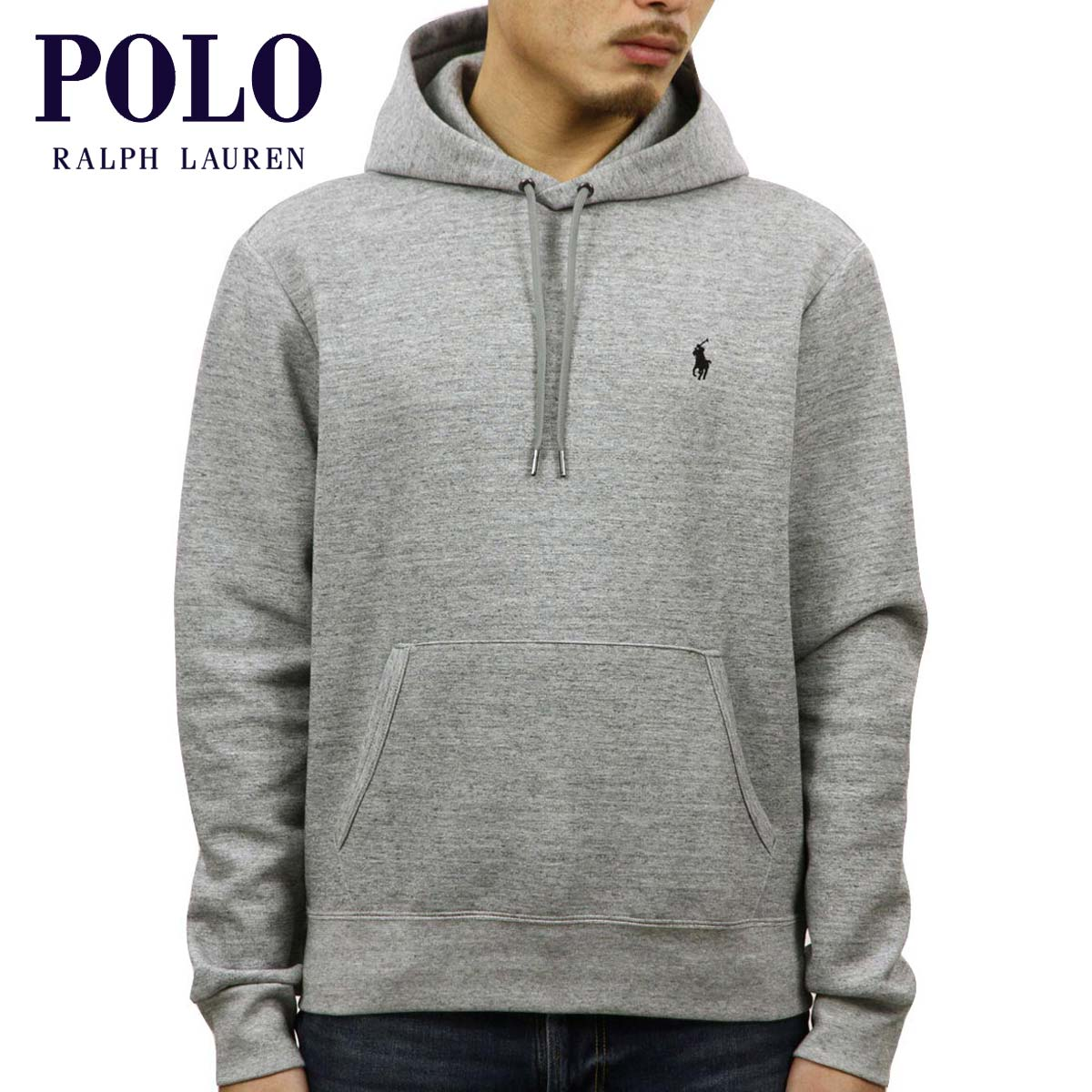 6c8405e7b7c0 Polo Ralph Lauren Mens Double Knit Graphic Hoodie