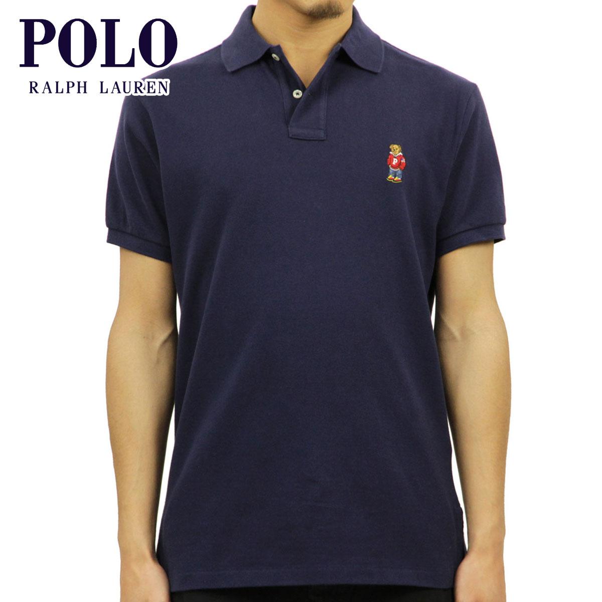 ポロ ラルフローレン POLO RALPH LAUREN 正規品 メンズ カスタムフィット 半袖ポロシャツ POLO BEAR CUSTOM FIT COTTON POLO