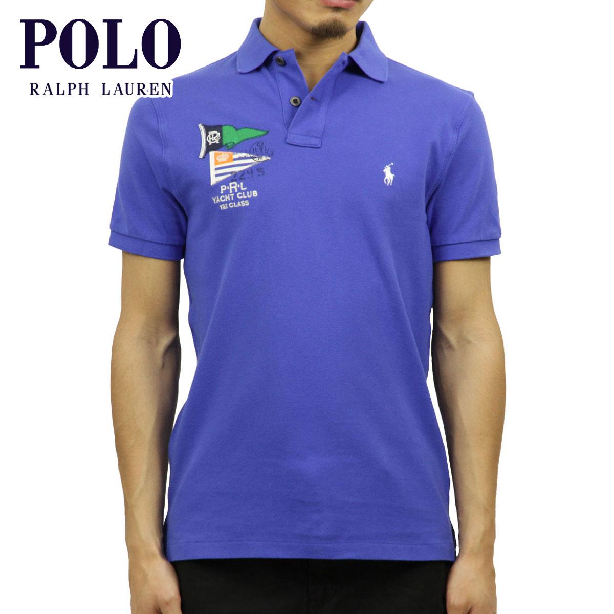 f106df38f Polo Ralph Lauren POLO RALPH LAUREN regular article men custom fitting  short sleeves polo shirt FLAG ...