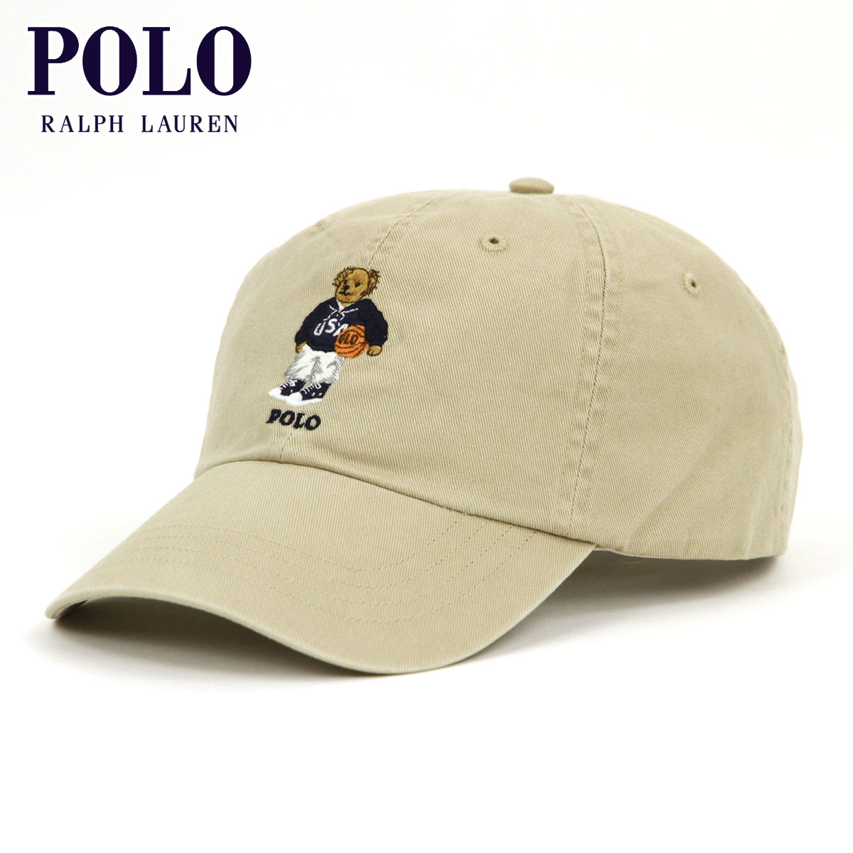 f6e43577330ba Polo Ralph Lauren POLO RALPH LAUREN regular article men cap POLO BEAR HAT  KAHKI