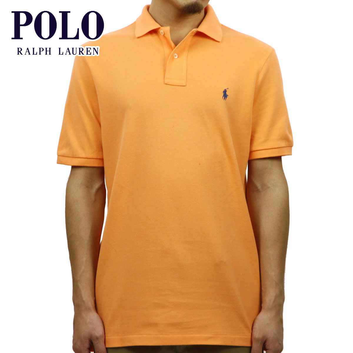 ポロ ラルフローレン POLO RALPH LAUREN 正規品 メンズ 半袖ポロシャツ CLASSIC FIT POLO SHIRT