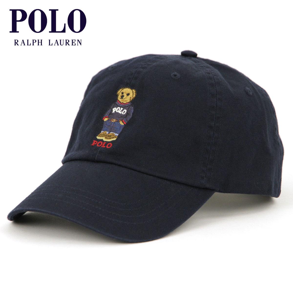 e39b84a3a9e54 Polo Ralph Lauren POLO RALPH LAUREN regular article men cap hat POLO BEAR  HAT BLACK