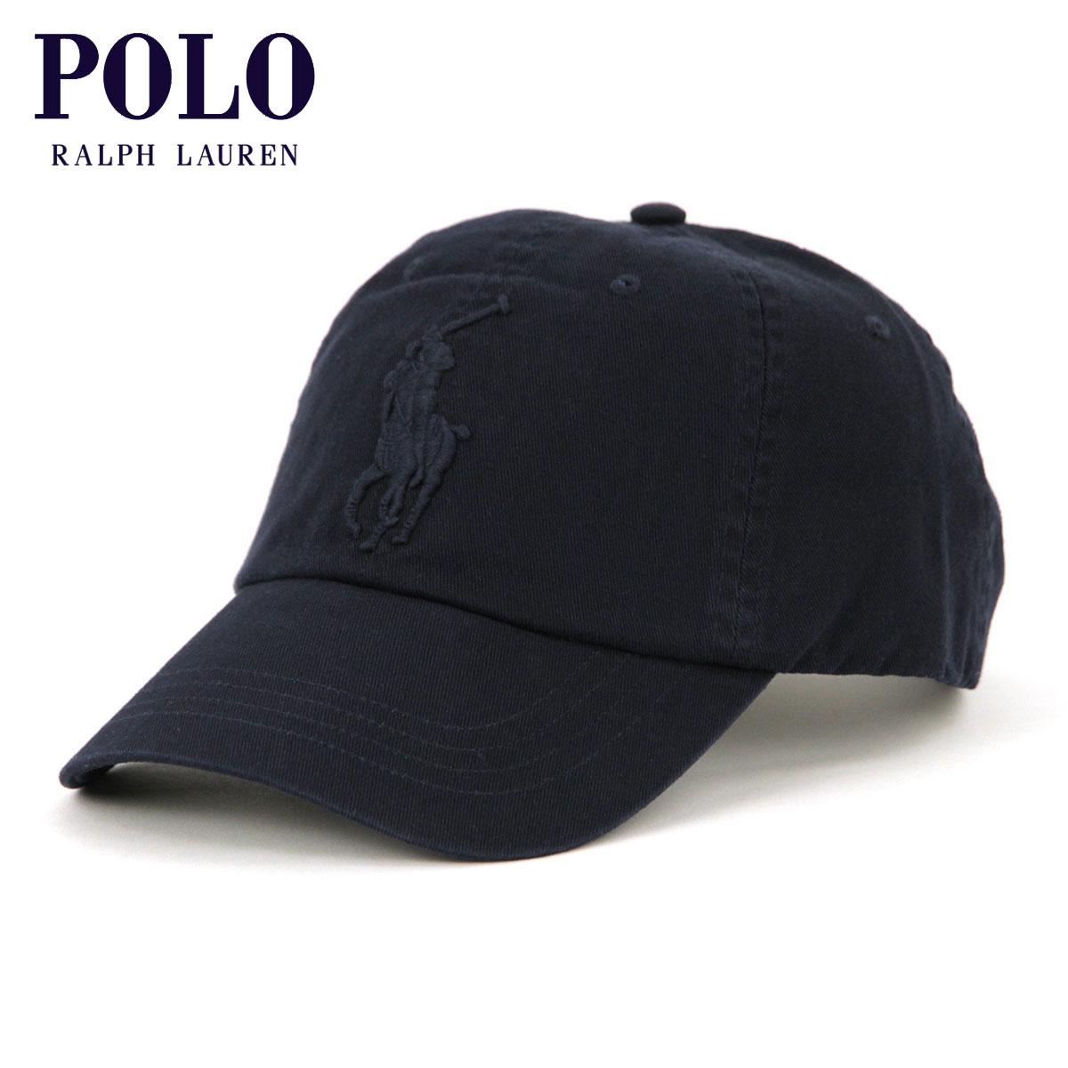 b76056f91 Polo Ralph Lauren cap men's regular article POLO RALPH LAUREN hat hat BIG  PONY COTTON CHINO BASEBALL CAP