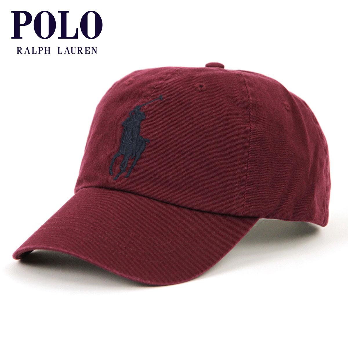 8660c0c741fb7 Polo Ralph Lauren POLO RALPH LAUREN regular article men cap hat BIG PONY  COTTON CHINO BASEBALL CAP