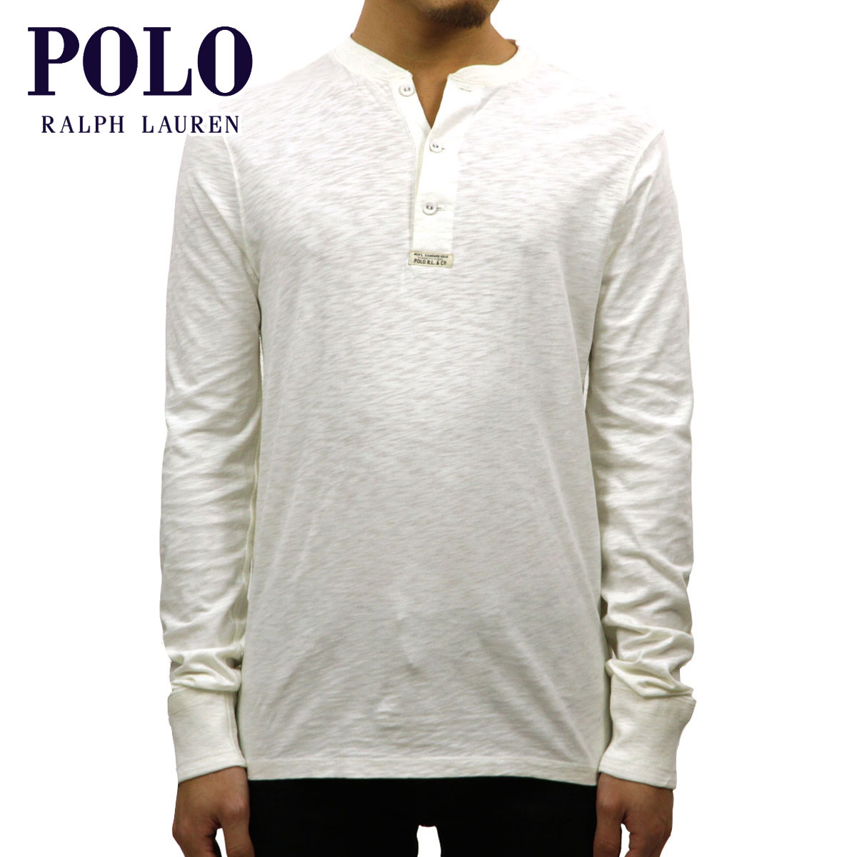 cc642feb Polo Ralph Lauren POLO RALPH LAUREN regular article men henley neck long  sleeves T-shirt ...