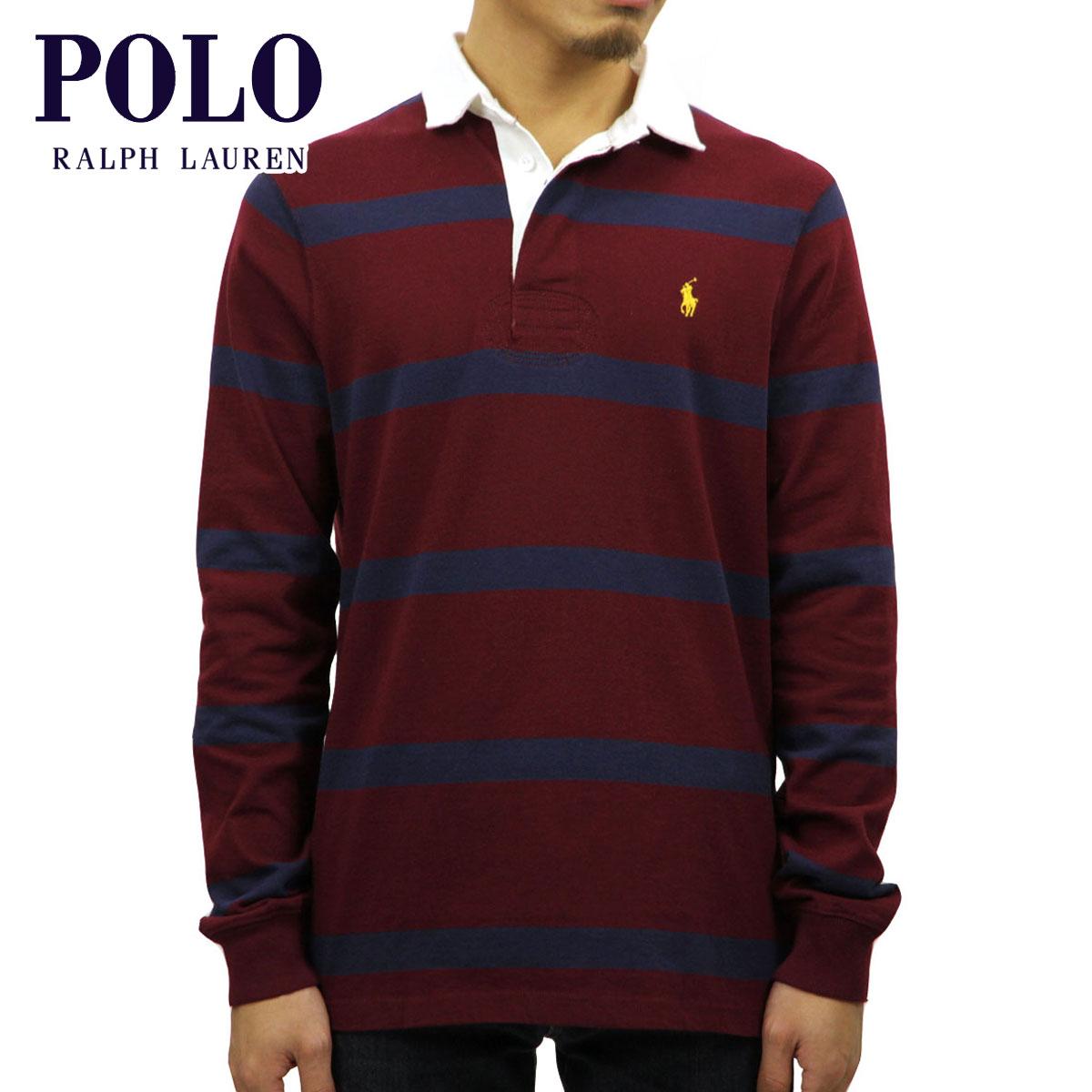 73f3902a Polo Ralph Lauren POLO RALPH LAUREN regular article men long sleeves rugby  shirt STRIPE RUGBY SHIRT ...
