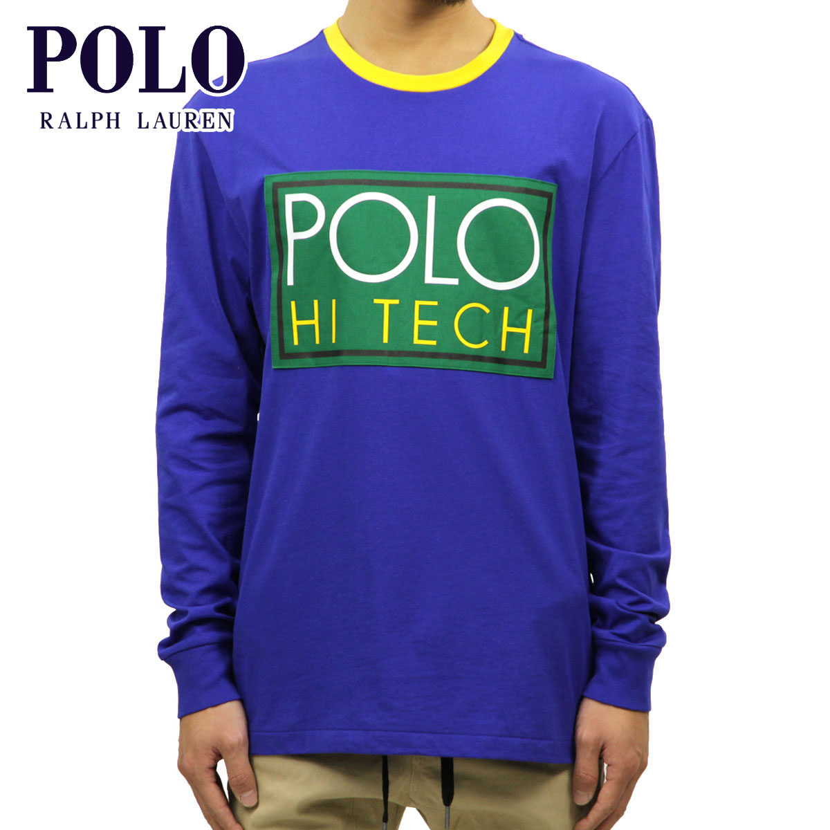 723fc759688 Polo Ralph Lauren POLO RALPH LAUREN regular article men long sleeves T-shirt  HI TECH ...