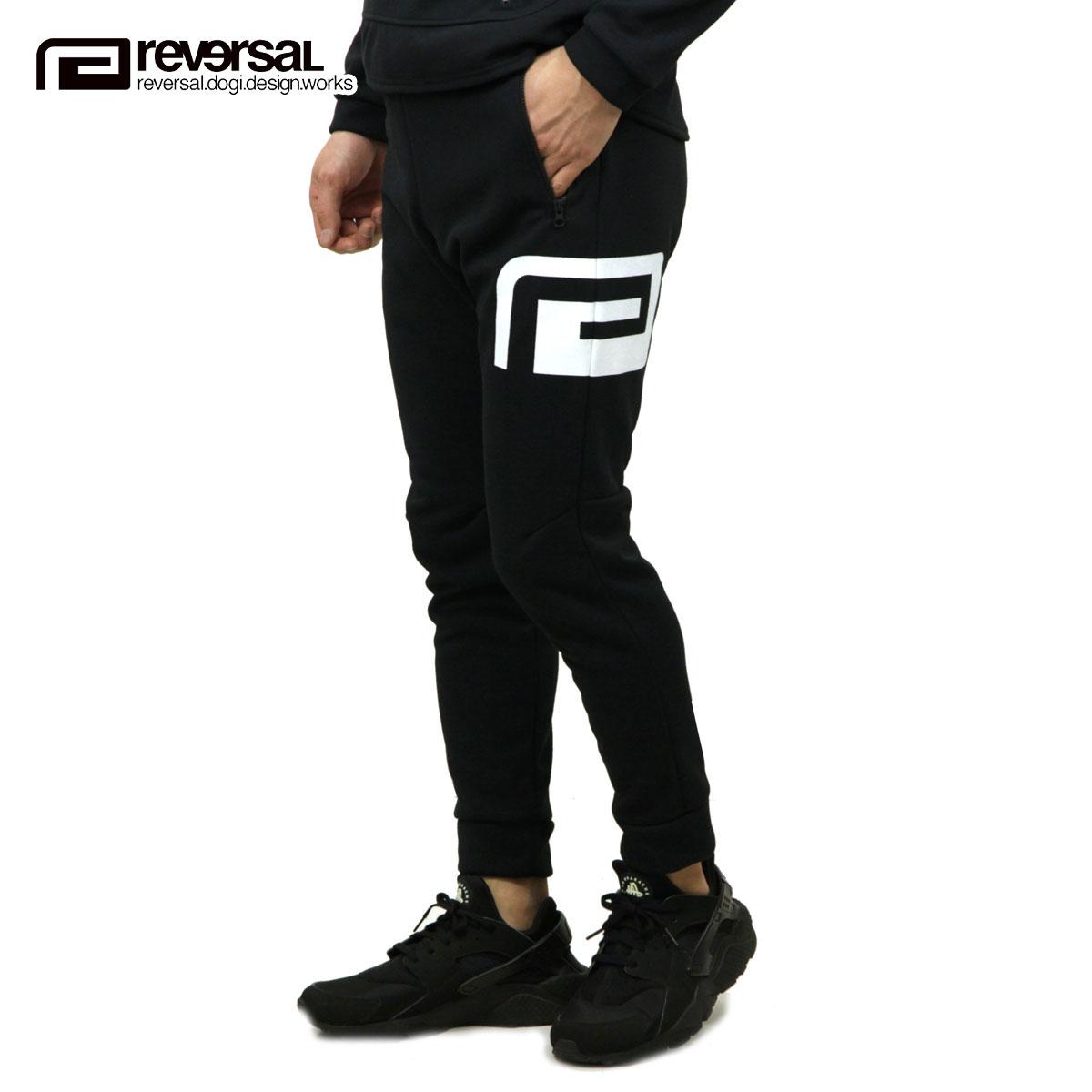 リバーサル REVERSAL 正規販売店 メンズ ロゴ入りジョガーパンツ TECH JOGGER PANTS rv19ss028 BLACK