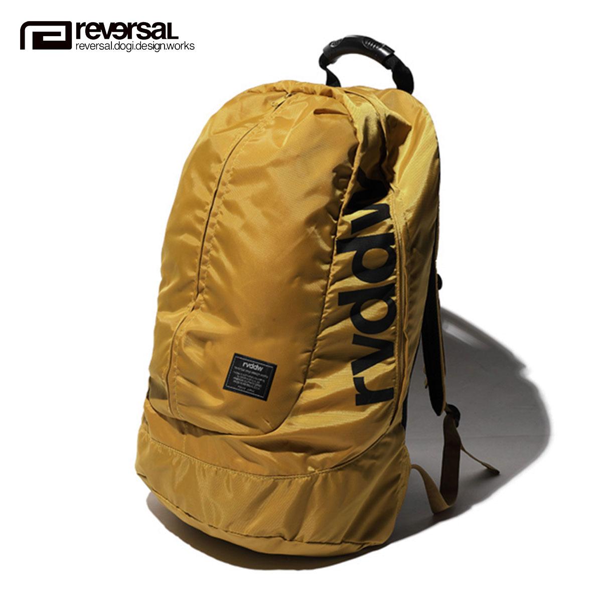 予約商品 6月頃入荷予定 リバーサル REVERSAL 正規販売店 メンズ レディース バックパック リュック バッグ NEW GIANT BAG rvbs025 KHAKI