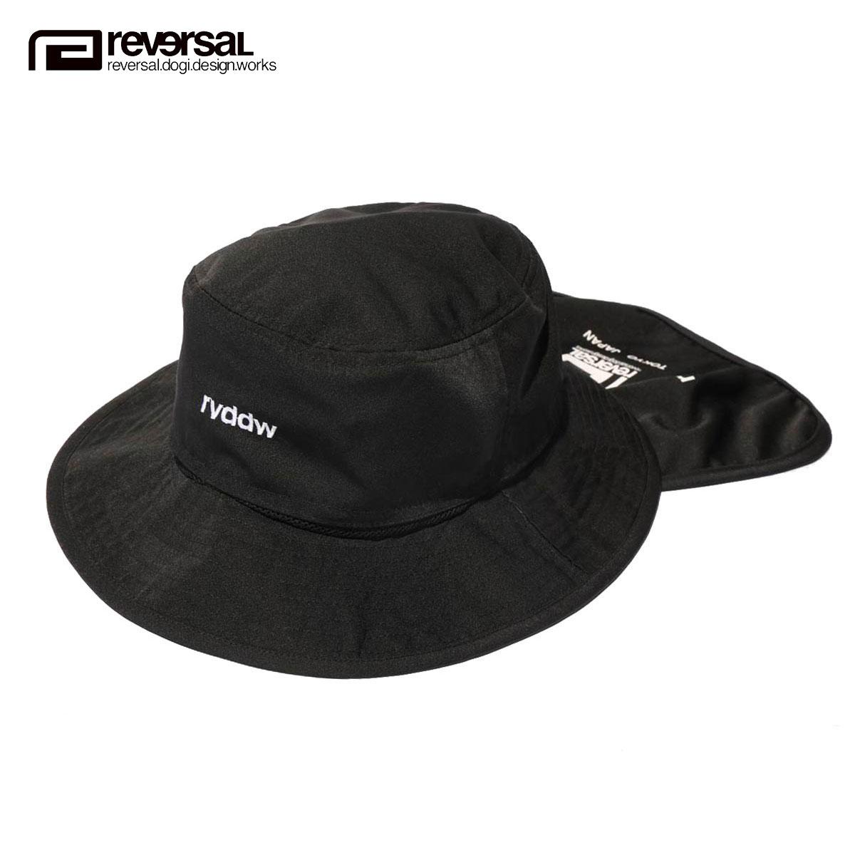 購入時にもらえるクーポン配布中 あす楽対応 送料無料 A06B B3C C3D D4E E13F リバーサル ハット メンズ SEAL限定商品 レディース 正規販売店 帽子 SUN SHADE サファリハット BLACK SAFARI スーパーセール rvddw REVERSAL HAT rv20ss701