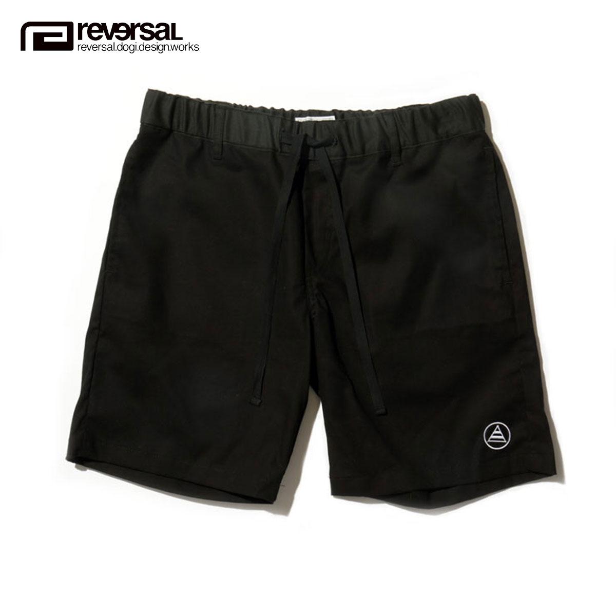 リバーサル REVERSAL 正規販売店 メンズ ショートパンツ PALM ALOHA SHORTS sf16ss009b SURF BLACK D00S15