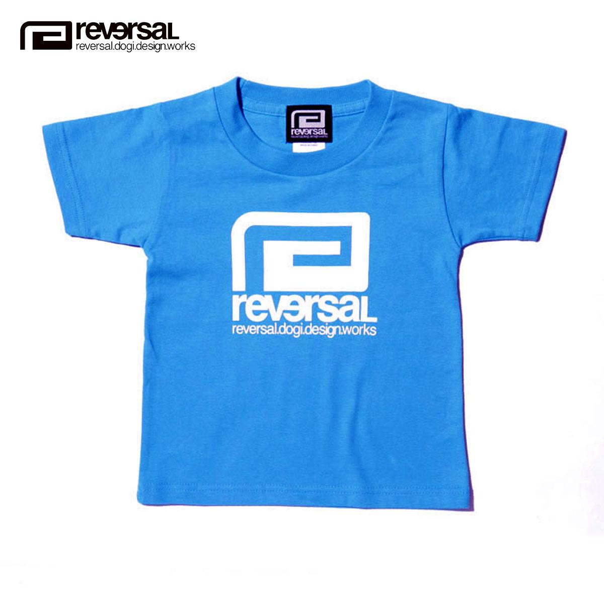 155d2d25b Reversal of REVERSAL regular sale Shop Kids Clothing Short Sleeve T shirt  BIG MARK KIDS TEE rvap16ss027 APPAREL TURQUOISE