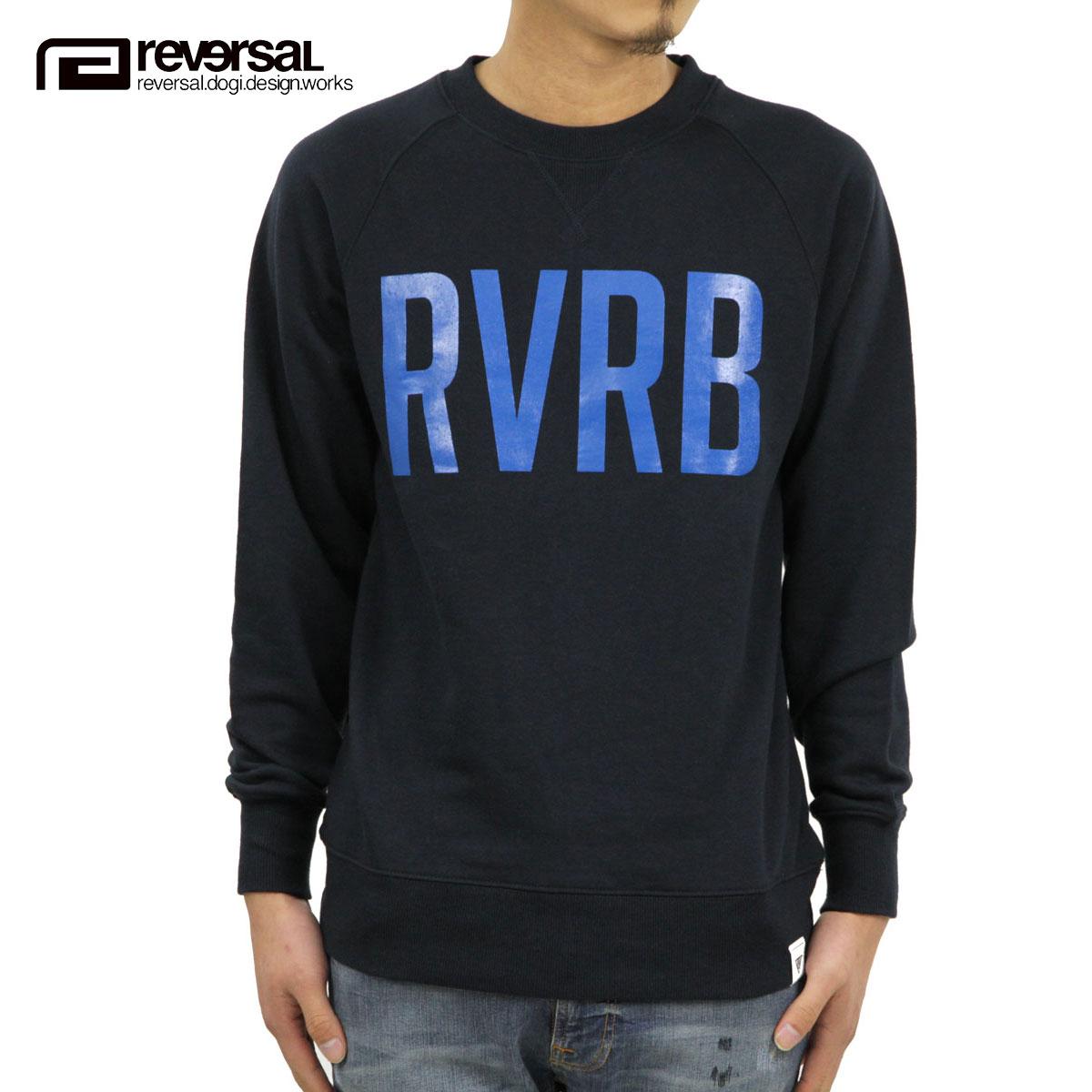 リバーサル REVERSAL 正規販売店 メンズ スウェット RVRB SWEAT CREW NECK rvsf16aw005 SURF NAVY D00S20
