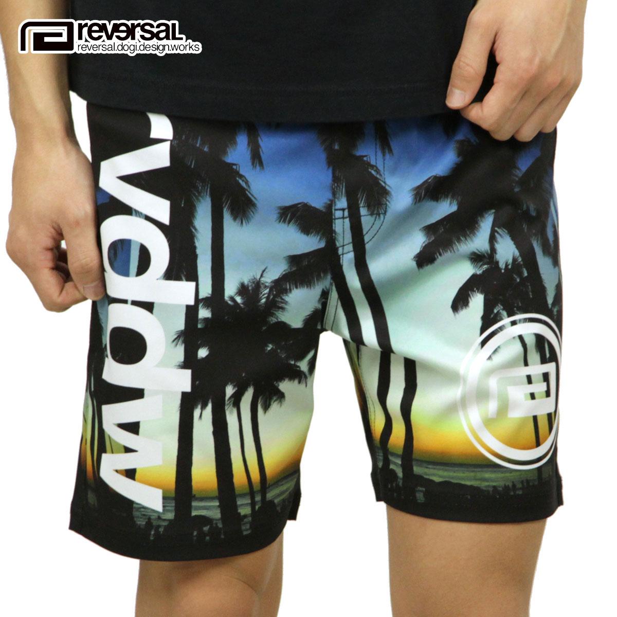 リバーサル REVERSAL 正規販売店 メンズ ドライメッシュ ショートパンツ SUNSET BEACH ACTIVE SHORTS DRY MESH rv18ss037 SUNSET BEACH