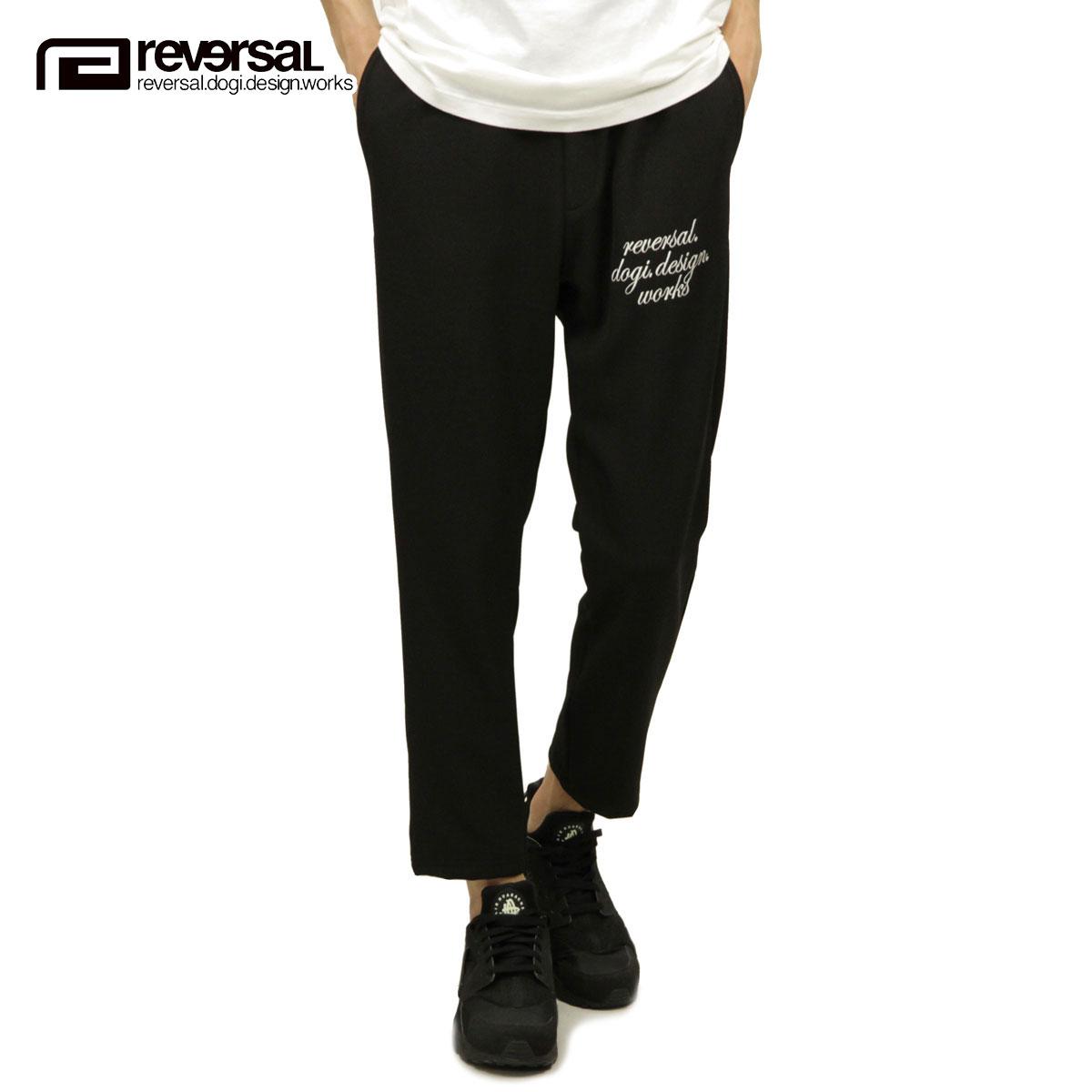 リバーサル REVERSAL 正規販売店 メンズ スウェットパンツ rvddw BAGGY PANTS rv18ss041 BLACK