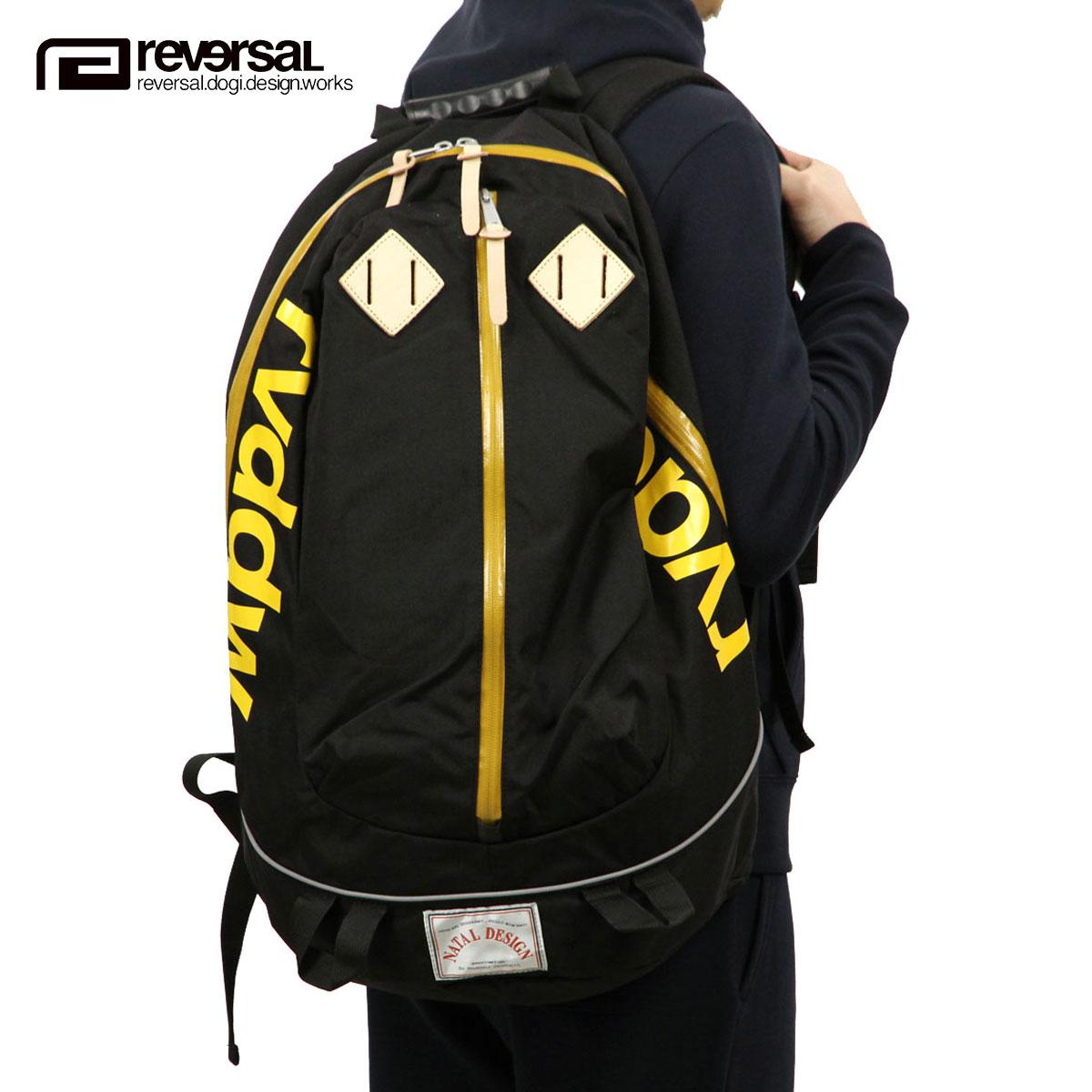 リバーサル REVERSAL 正規販売店 バックパック RVDDW × NATAL DESIGN REVERSAL BACK PACK2 BLACK